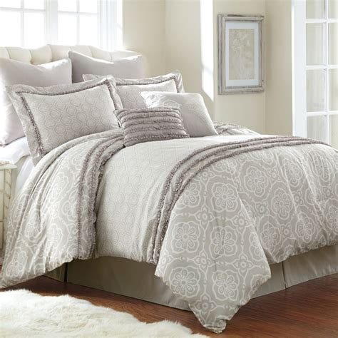 geometric bedding ceci geometric printed 8 piece comforter set