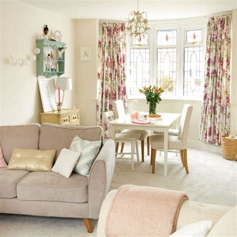 modern living room with mismatched shabby chic touches housetohome co uk