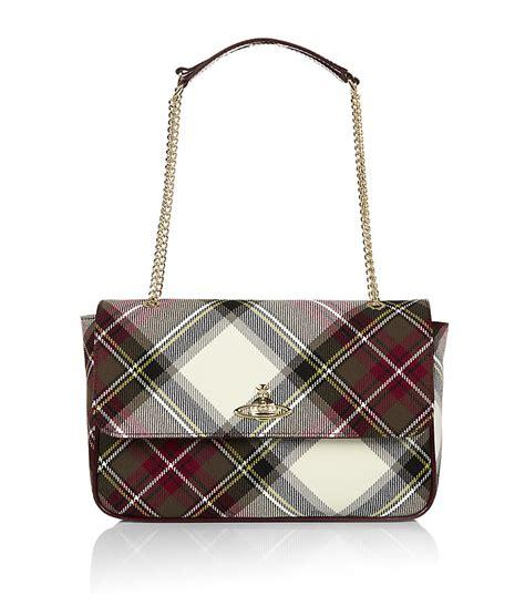 Vivienne Westwood Tartan Purse by Vivienne Westwood Winter Tartan Flap Shoulder Bag In
