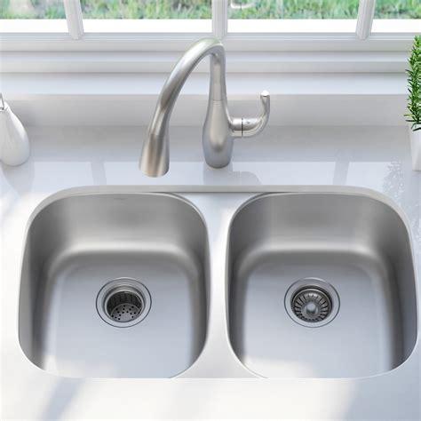 kraus 32 inch undermount sink stainless steel kitchen sinks kraususa com