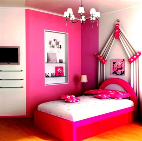Bedroom Ideas For Girls Lovely Decoration Ideas For Bedrooms Girls With Pink