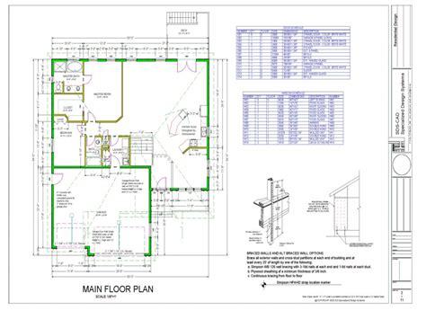 free cad floor plans house free building plans pdf free autocad house plans