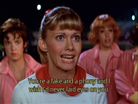 film quotes grease grease musical quotes quotesgram