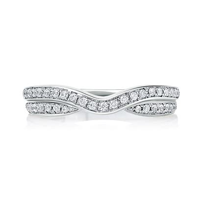Wedding Bands Curved by Row Curved Wedding Band Wedding Bands For