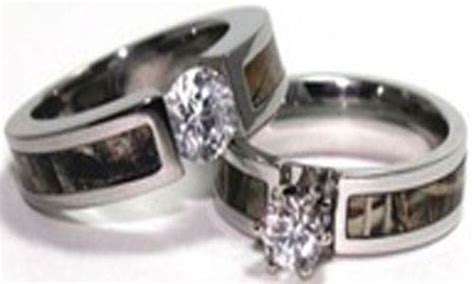 Diamond Camouflage Wedding Rings Pictures