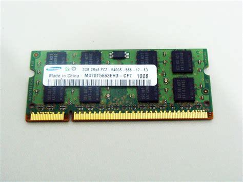 Ram 4gb Untuk Netbook memoria ram notebook netbook 2x 2gb 4gb ddr2 800mhz pc2
