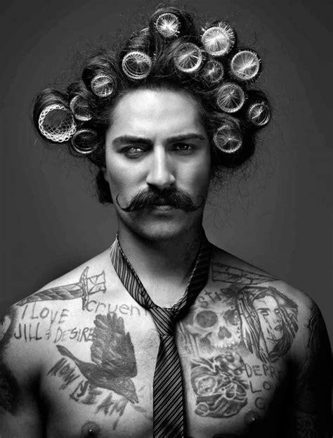 men with hair in rollers je ne trouve pas ma coupe de cheveux homme celeste