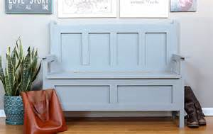 Diy Storage Bench Diy Storage Bench The House Of Wood
