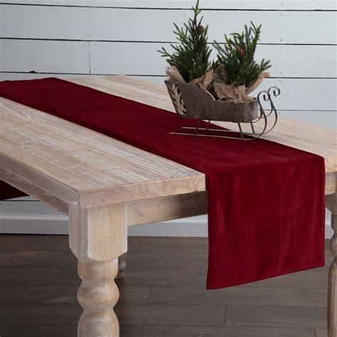 72 inch table runner velvet 72 inch table runner by vhc brands the