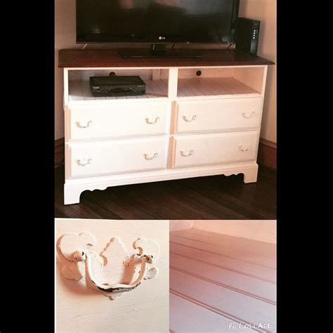 chalk paint dresser turn tv stand with diy chalk paint i used one valspar sle from lowes 2