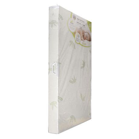 kidilove heavenly dreams baby crib mattress with bamboo