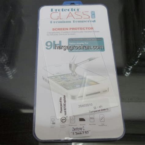 Quality Antigores Tempered Glass Kaca Zenfone 2 5 Inc 5inc hargagrosiran pelindung layar anti gores kaca tempered glass asus zenfone c