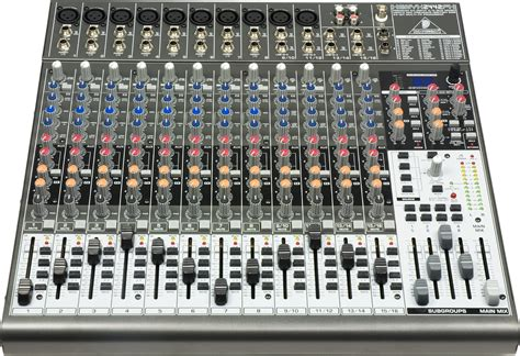 compact mixer behringer xenyx 2442fx audiophiles