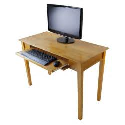 Small Desk Computer Small Narrow Computer Desk Made Of Wood