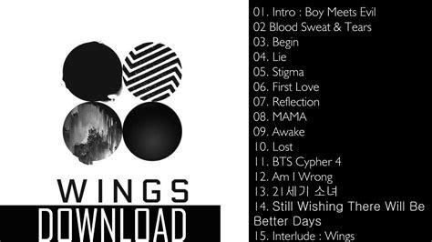 Download Mp3 Bts Wings | album bts wings vol 2 mp3 download youtube