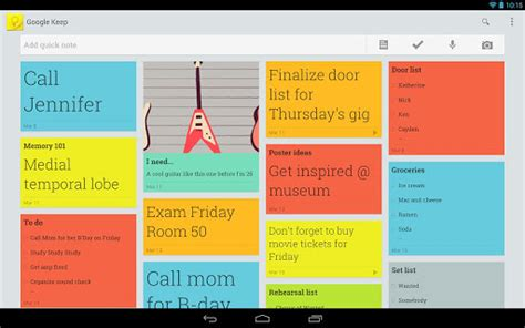 google keep design best checklist to do list and task list apps for android