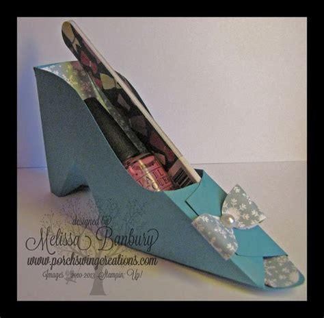 high heel shoe gifts paper high heeled shoe gift stin up