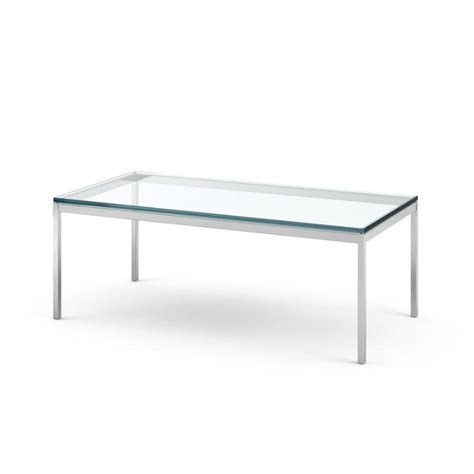florence knoll rectangular coffee table cocktail table