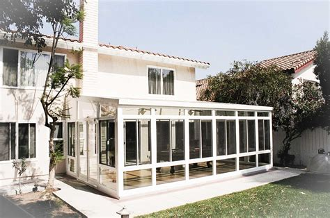 Backyard Sunroom by Pomona Ca Sunrooms And Patiorooms Los Angeles Sunrooms