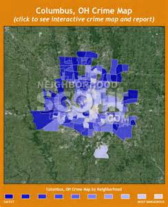 Crime Map Columbus Ohio by Columbus Oh Crime Rates And Statistics Neighborhoodscout