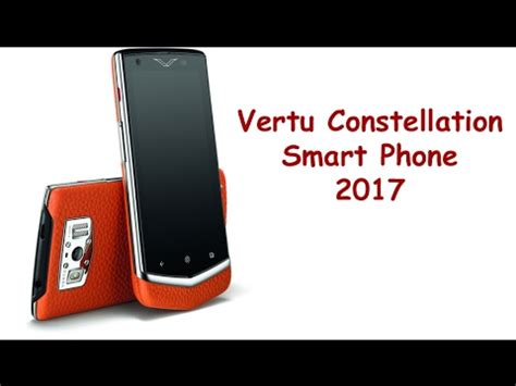 vertu phone 2017 price vertu constellation latest smart phones 2017 upcoming