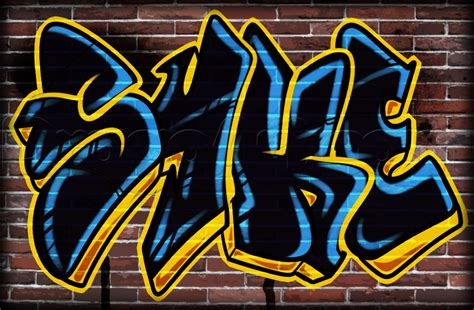 the word in graffiti how to draw a graffiti word step by step graffiti pop