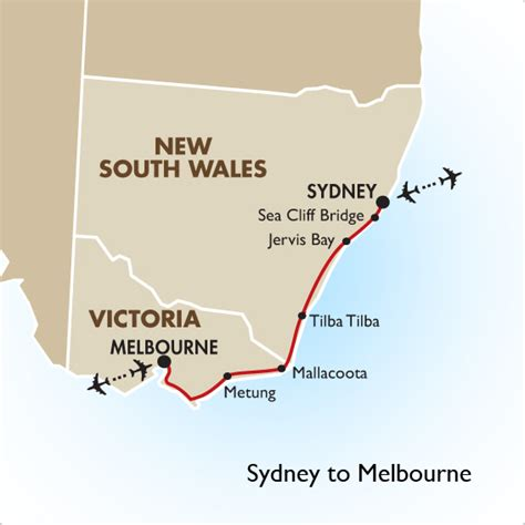 drive from sydney to melbourne sydney to melbourne coast drive self drive goway travel