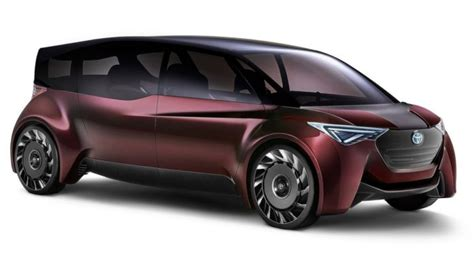 vehicle ride comfort toyota unveils fine comfort ride fuel cell concept