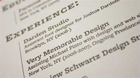 4 tips to make your resume stand out