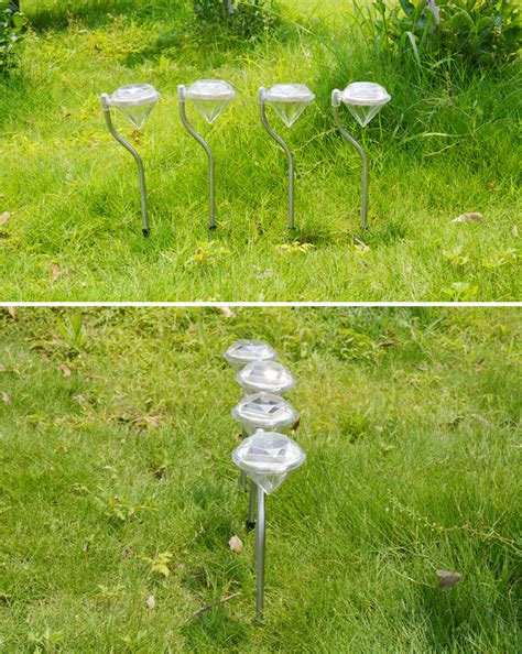 Stainless Solar Lawn Light For Garden Decorative 100 Outdoor Decorative Solar Lights