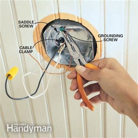 Installing Ceiling Fan Without Existing Wiring by How To Install Ceiling Fans The Family Handyman