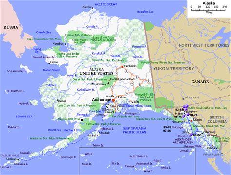 united states map plus alaska alaska map