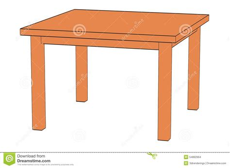 Table D by Image Of Table Stock Illustration Image 54892964