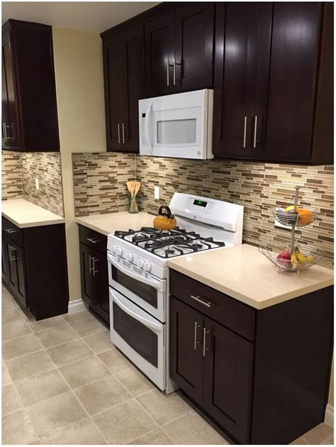 espresso kitchen cabinets with white granite espresso kitchen cabinets with white granite cabinet