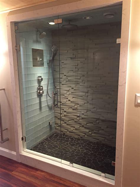 Glass Shower Door Gallery Franklin Glass Company Steam Shower Door