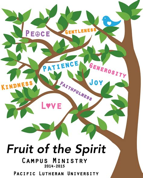fruit of the spirit tree today s chapel at plu division of marketing