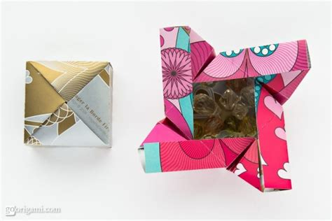 Basic Origami Box - origami boxes by robin glynn and sprung go origami