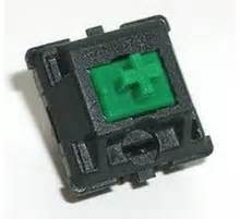 Cherry Mx Clear Switch Tactile Bump Pcb Mount cherry mx green keyswitch plate mount tactile click 110 pack by cherry