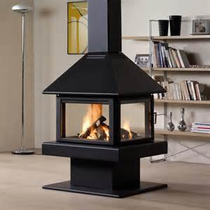 Indoor Stove Fireplace Rocal 80 Wood Burning Stove Contemporary