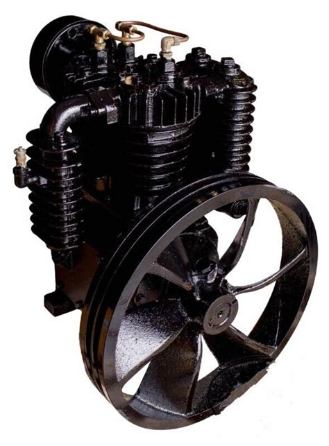 new 5 horsepower cast iron 2 stage industrial air compressor ebay