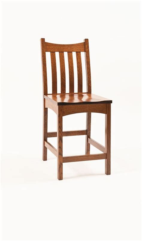 Mission Bar Stool by Bellingham Mission Bar Stool From Dutchcrafters Amish