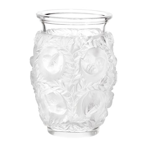 clear gel for vases buy lalique clear bagatelle vase amara