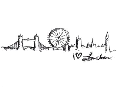 simple tattoo london draw london picture image 365882 on favim com