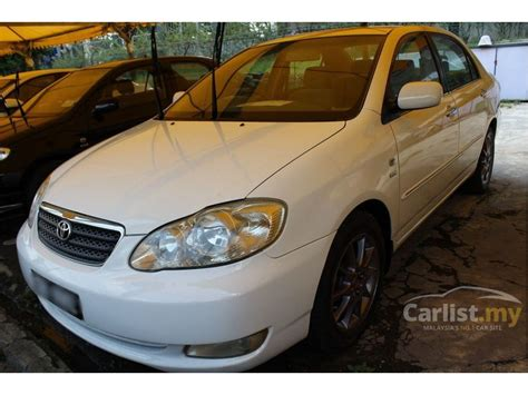 how make cars 2006 toyota corolla seat position control toyota corolla altis 2006 g 1 8 in selangor automatic sedan white for rm 25 800 3882361