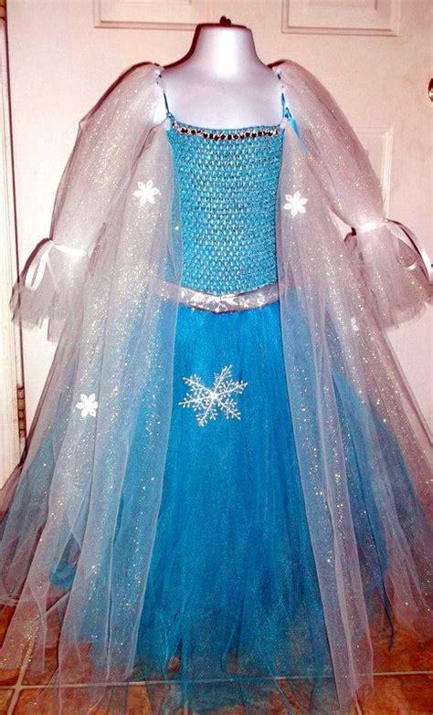 Elsa Handmade Costume - 35 diy disney frozen costumes dresses elsa olaf
