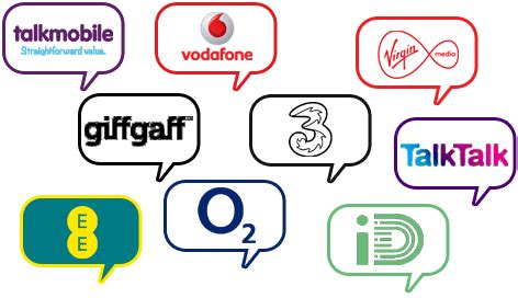mobile phone networks uk compare mobile deals by networks service providers izi