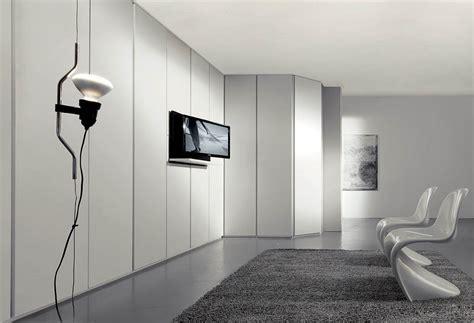 parete armadio parete attrezzata armadi con porta tv by fimar