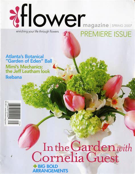 flower design magazine uk first photos in magazines