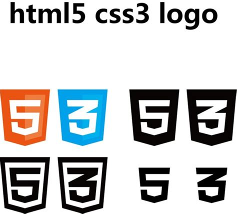 html5 colors html5 and css3 color flags vector graphics my free