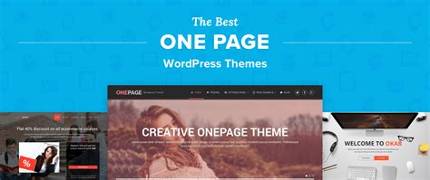 top 12 best one page wordpress themes for landing pages